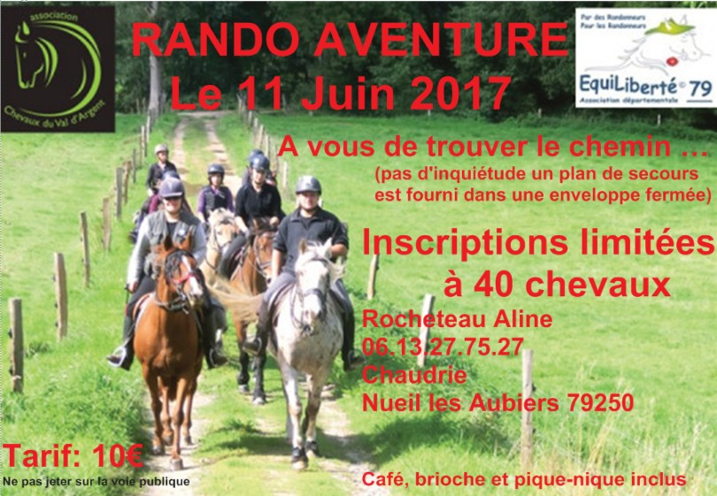 Chevaux Val dargent 2017